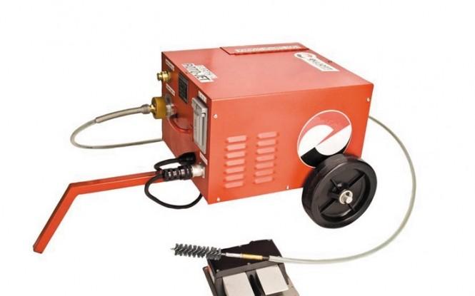رسوب زدایی مکانیکال فشارقوی با آب مدل ROTO-JET ساخت ایدروجت آمریکا