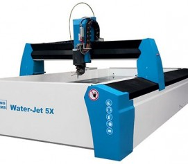 واترجت فشارقوی جهت برش با آب مدل Water-Jet 5X ساخت کنوت آلمان