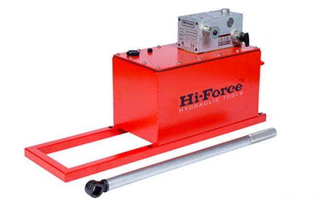 هیدروتست پمپ پنوماتیکی (بادی) هیدرولیکی دو سرعته 1000 بار فشارقوی مدل MHP-Range ساخت هایفورس انگلستان