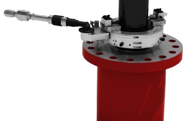برش و پخ زنی اکسترنال با درایو بادی (پنوماتیکی) یا هیدرولیکی جهت سطوح خارجی پایپ و فلنج مدل ECC External Casing Cutter ساخت وش آمریکا