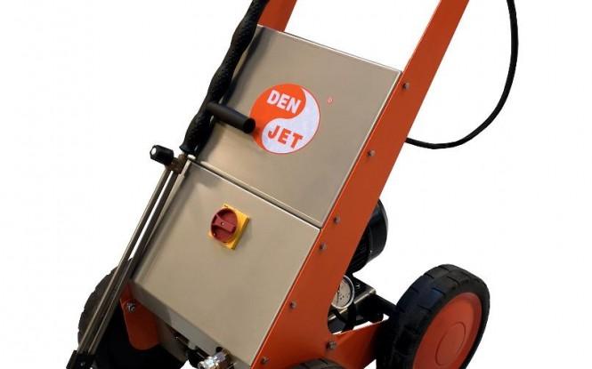 واترجت الکتریکی برقی 200 بار جهت رسوب زدایی و شستشوی صنعتی مدل CE-08 ساخت دن جت دانمارک