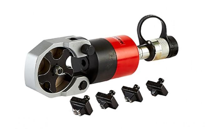 پرس کابلشو دستی (مکانیکی) هیدرولیکی 700 بار فشارقوی پمپ جدا با توان 60 تن مدل CH-Range ساخت هایفورس انگلستان
