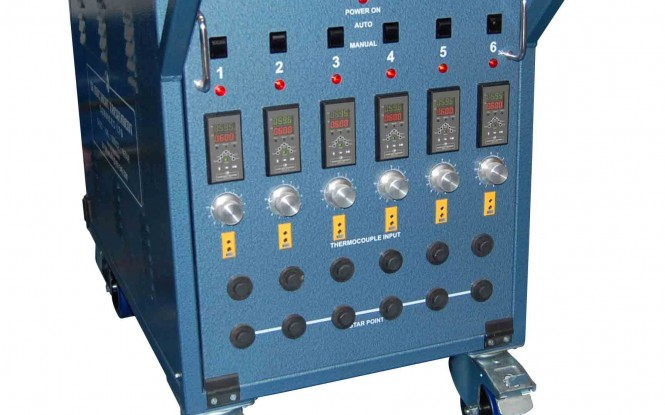 یونیت کنترل حرارت شش کاناله 65 ولتی مدل GHT-1001 ساخت گلوب انگلستان
