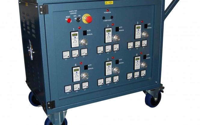 یونیت کامل تنش زدایی شش کاناله سه فاز جهت کنترل ولتاژ مدل GHT-8003 ساخت گلوب انگلستان