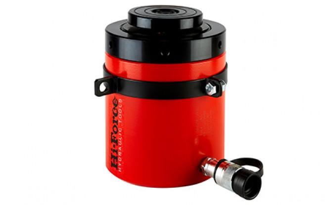 جک هیدرولیکی 700 بار یک طرفه دارای مهره قفل ایمنی با ظرفیت 1012 تن مدل HFG-Range ساخت هایفورس انگلستان