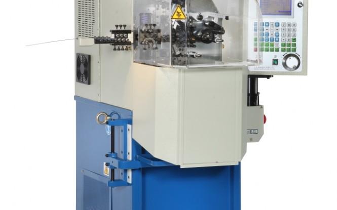 سیم پیچی و فرم دهی پنج محور سه فاز جهت مفتول سیم مدل 0.8 mm 5-axis Spring Coiling Machine ساخت وایتلگ انگلستان
