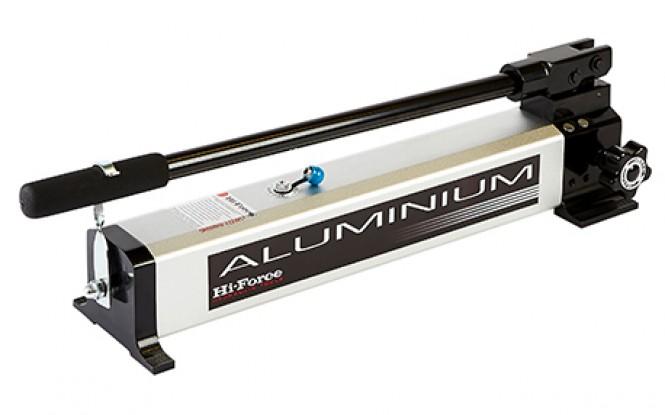 پمپ دستی هیدرولیکی 700 بار دو سرعته مدل HP Aluminium-Range ساخت هایفورس انگلستان