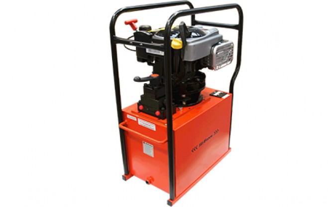 پمپ بنزینی هیدرولیکی دو طرفه و چهار طرفه 700 بار دو سرعته مدل HPP-Range ساخت هایفورس انگلستان