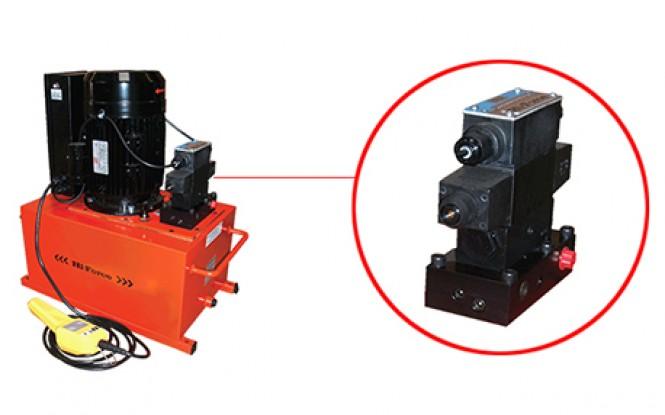 شیر برقی فشار قوی 24 ولت به همراه ریموت کنترل Low Voltage Solenoid Valve with Hand Pendant ساخت هایفورس انگلستان