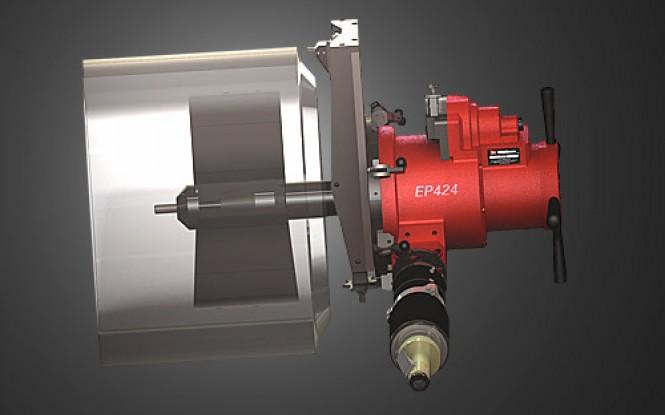ابزارآلات جانبی و تجهیزات مرتبط با فلنج فیسر ماژولار با قابلیت پخ زنی اتوماتیک انتهای لوله و ولوهای بزرگ مدل SDB Beveler and EP 424 End Prep Tooling ساخت وش آمریکا