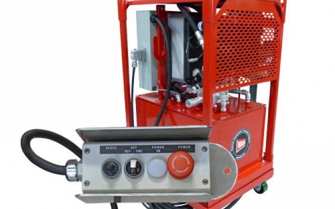 پاوریونیت هیدرولیکی الکتریکی (برقی) جهت تجهیزات پخ زنی و برش لوله مدل HPU-20 20HP ساخت وش آمریکا