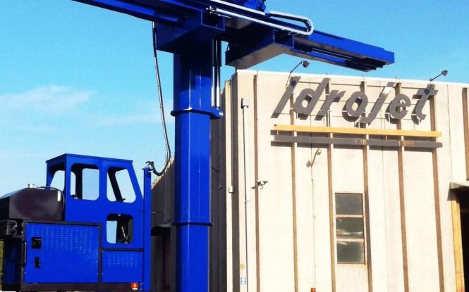 جازنی و بیرون کشیدن باندل های فوق سنگین با قابلیت تنظیم بهمراه اتاقک کنترل مدل Self Propelled Heavy Type Bundle Extractor ساخت ایدروجت ایتالیا