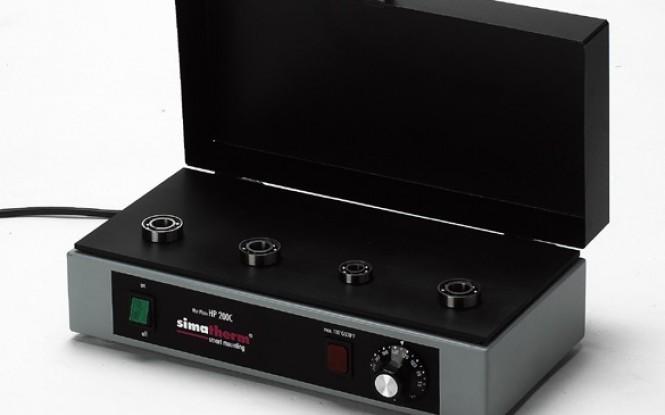گرمکن القایی صفحه ای برقی با ترموستات کنترل دما جهت بلبرینگ های صنعتی مدل HPS - HPL ساخت سیماتک انگلستان