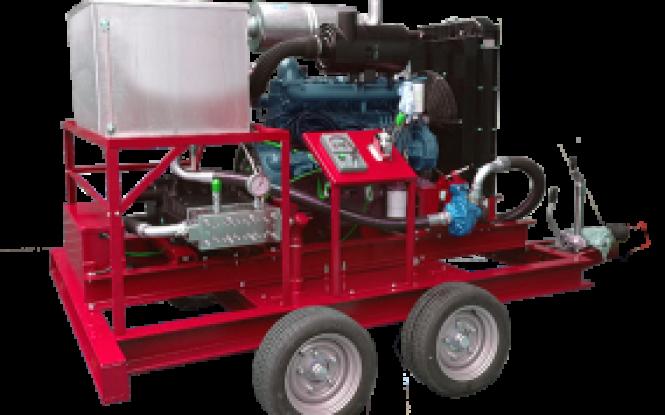 واترجت فشارقوی با فشار 3000 بار جهت رسوب زدایی و شستشوی صنعتی مبدل های حرارتی مدل IDROENERGY ساخت ایدروجت ایتالیا