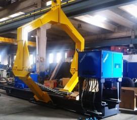 بالابر مکانیکی باندل با ظرفیت 50 تن و قطر 3 متر MECHANICAL BUNDLE LIFT ساخت ایدروجت ایتالیا