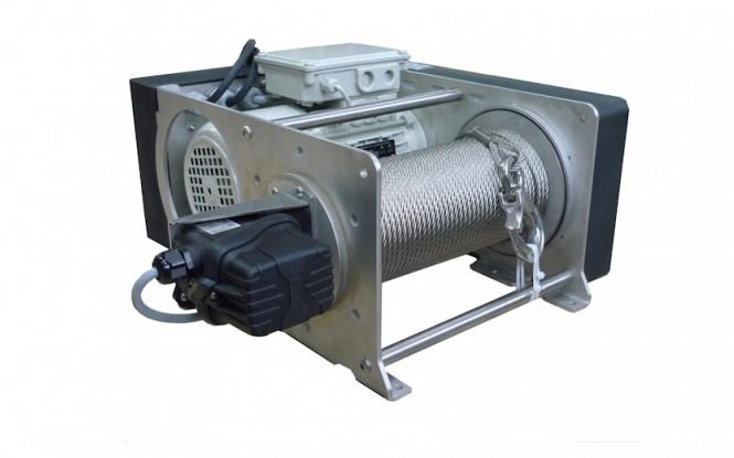 وینچ کشنده برقی الکتریکی با ظرفیت 990 کیلوگرم مدل PRIMO INOX stainless steel version 990 kg ساخت هوچز فرانسه