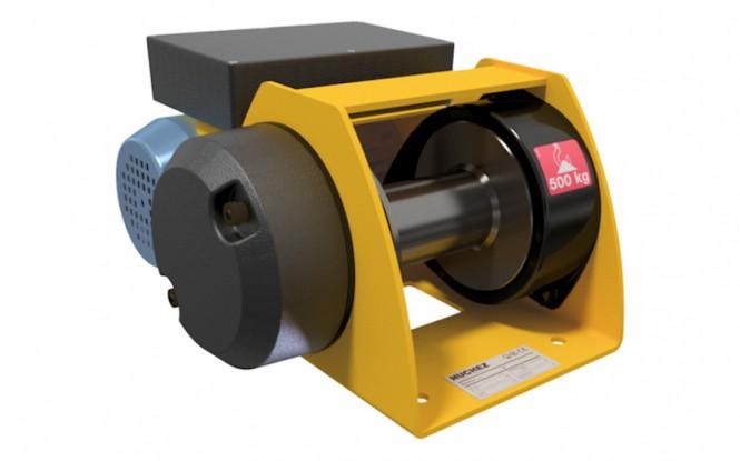 وینچ کشنده برقی الکتریکی با ظرفیت 500 کیلوگرم مدل MOTORBOX 500 kg - Low voltage control ساخت هوچز فرانسه