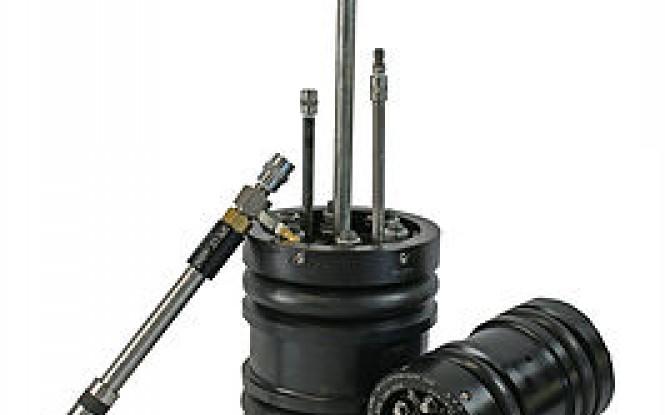 پلاگ دو طرفه لوله با اهرم تنظیم کننده جهت آب بندی ، ایزولاسیون و رفع نشتی لوله مدل Double Block and Bleed Grip Type Tools ساخت وش آمریکا