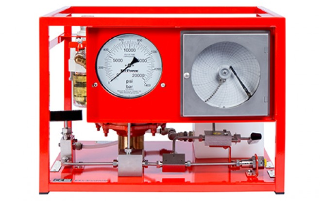 هیدروتست پمپ پنوماتیکی (بادی) هیدرولیکی 1634 بار فشارقوی مدل AHP2-CR-Range ساخت هایفورس انگلستان