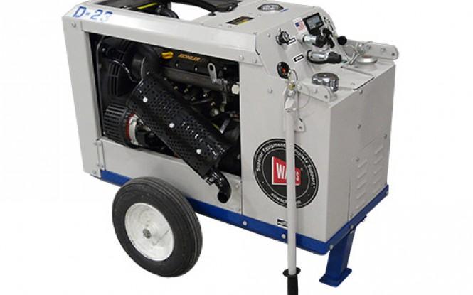 پاوریونیت هیدرولیکی گازوئیلی جهت تجهیزات پخ زنی و برش لوله مدل HCM-D23 23HP ساخت وش آمریکا