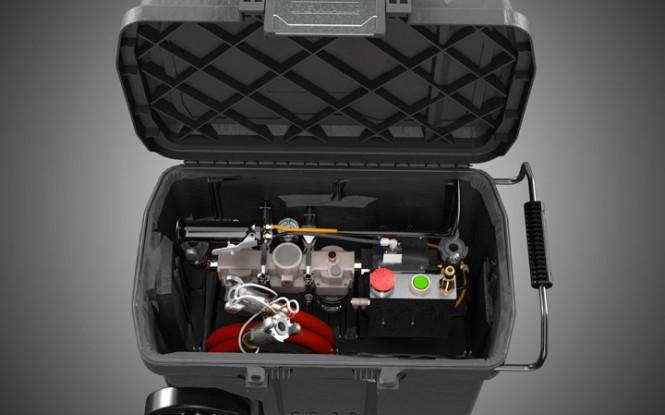واحد مراقبت و کنترل ماژولار هوا با  درایو بادی و محفظه ضد آب مدل Air Treatment & Control ساخت وش آمریکا