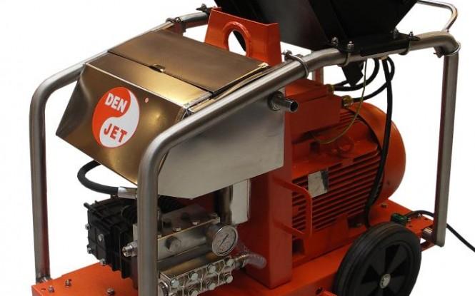 واترجت الکتریکی برقی 500 بار جهت رسوب زدایی و شستشوی صنعتی مدل CEX-20 ساخت دن جت دانمارک