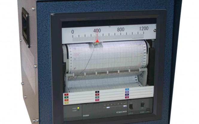 رکوردر آنالوگ 12 کاناله جهت ثبت نمودار دما مدل GHT-2001 ساخت گلوب انگلستان