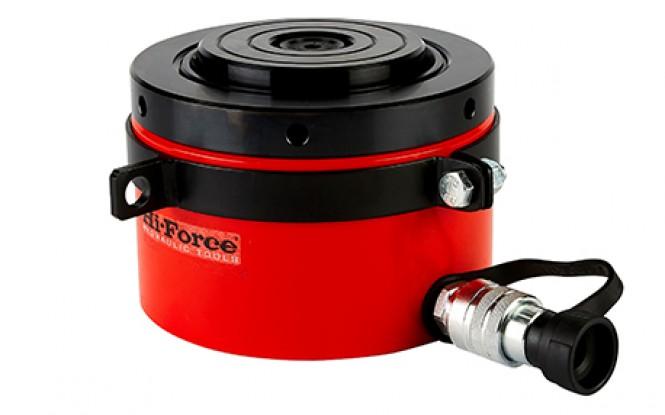 جک هیدرولیکی 700 بار یک طرفه کورس پایین با ظرفیت 520 تن مدل HFL-Range ساخت هایفورس انگلستان