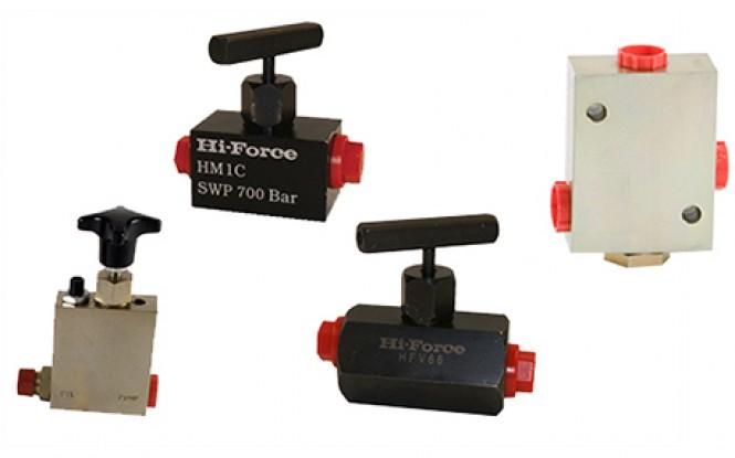 شیر ایمنی کنترل جریان با فشار 700 بار مدل HM/HFV/HPV-Range ساخت هایفورس انگلستان
