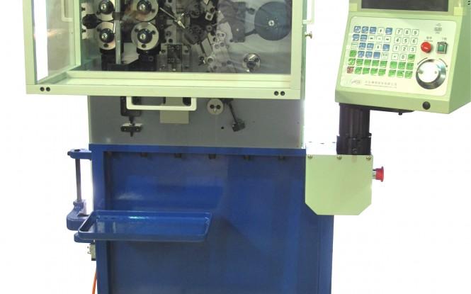 سیم پیچی و فرم دهی پنج محور سه فاز جهت مفتول سیم مدل 1.6 mm 5-axis Spring Coiling Machine ساخت وایتلگ انگلستان