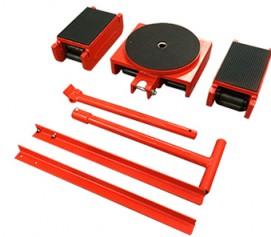 اسکیت حمل بار با ظرفیت 35 تن و مقاومت بالا جهت جابجایی ابزارآلات مدل RKT-Range ساخت هایفورس انگلستان