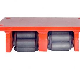 اسکیت حمل بار فوق سنگین با ظرفیت 400 تن و مقاومت بالا جهت جابجایی ابزارآلات مدل RSD And RSG-Range ساخت هایفورس انگلستان