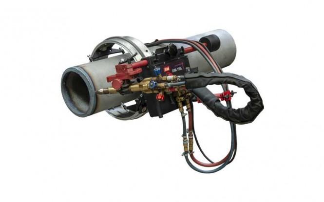 جوش و برش دیجیتالی 100 وات با امکان تنظیم سرعت مدل RAIL-TUG ساخت پروموتک لهستان