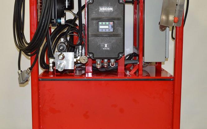 پاوریونیت هیدرولیکی الکتریکی (برقی) جهت تجهیزات پخ زنی و برش لوله مدل HPU-20 20GY ساخت وش آمریکا
