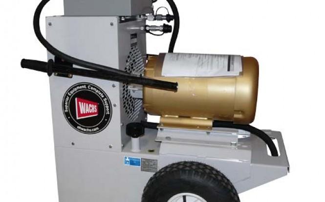 پاوریونیت هیدرولیکی الکتریکی (برقی) 440 ولت جهت تجهیزات پخ زنی و برش لوله مدل HCM-3E4 15HP ساخت وش آمریکا