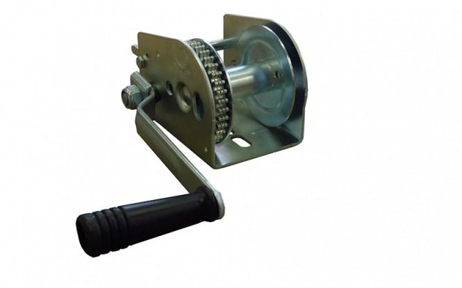 وینچ دستی کشنده عمودی با ظرفیت 596 کیلوگرم مدل 5 N1 - 596 ساخت هوچز فرانسه